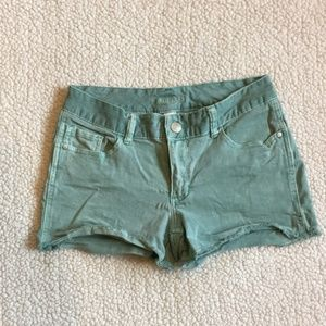 Maurices Teal Shorts